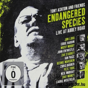 Tony Ashton And Friends - Endangered Species - Live At Abbey Road (2009 remaster) 2CD+DVD