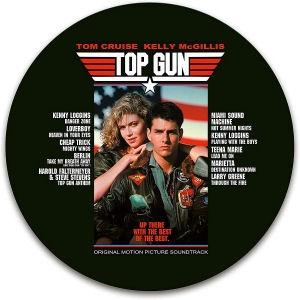 Top Gun: Original Motion Picture Soundtrack (Picture Vinyl) LP