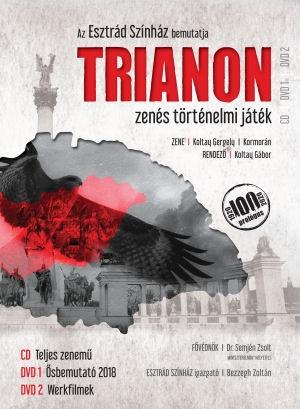 Trianon - Zenés történelmi játék 2DVD + CD + Emlékkönyv