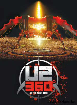 U2 - 360 At The Rose Bowl DVD