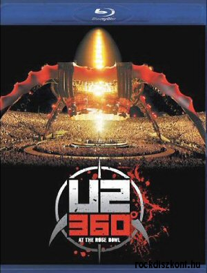 U2 - 360 at the Rose Bowl BD (Blu-ray Disc)