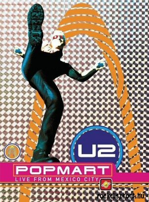 U2 - Popmart - Live From Mexico City DVD