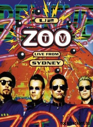 U2 - Zoo TV: Live from Sydney DVD