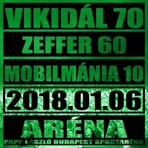 Vikidál 70 - Zeffer 60 - Mobilmánia 10: Jubileumi Nagykoncert 2018.01.06. Bp. Sportaréna (Vinyl) 2LP