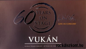 Vukán György - George Vukan Concert - 60 Years On Stage I. + II. 2009 DVD