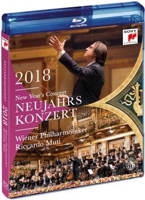 Wiener Philharmoniker, Riccardo Muti - New Year's Concert / Neujahrskonzert 2018 - Blu-ray