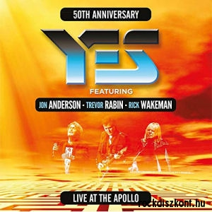 Yes (feat. Jon Anderson, Trevor Rabin, Rick Wakeman) - Live At The Apollo 2CD