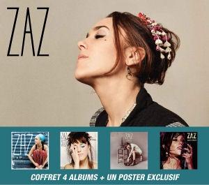Zaz - Coffret 4CD+DVD