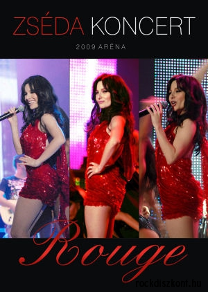 Zséda - Rouge koncert DVD