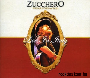 Zucchero (Sugar Fornaciari) - Live In Italy (Deluxe Edition) 2CD+2DVD